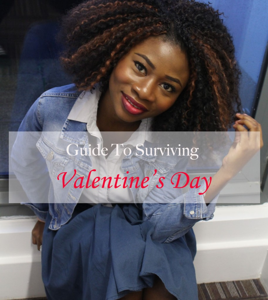 Guide to surviving valentine's day for single girls, Valentine's day , things to do for valentine's day , things single girls can do for valentine's day,  Single girl's guide to surviving Valentine's day, Smiling girl, Petite style and beauty blog, Lifestyle Blog, Crochet hair, Dark skin blogger, Bloggers