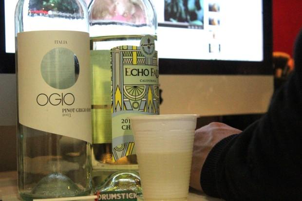 Pinio Grigio wine