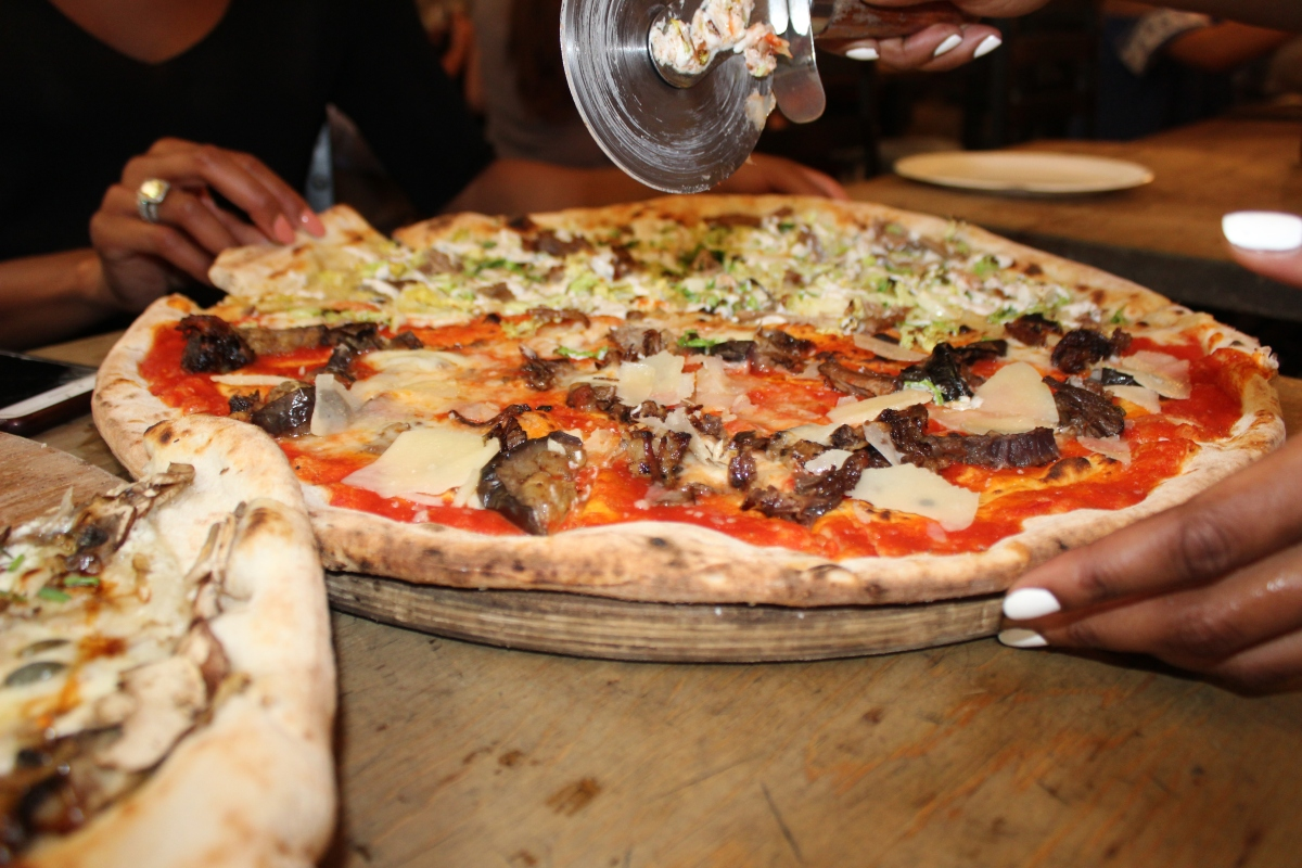 Neil's Yard, Home Slice, Pizza, London, Covent Garden,