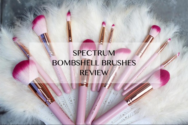 Spectrum Brushes, Bombshell by Spectrum, Spectrum Bomshell Brush Review,