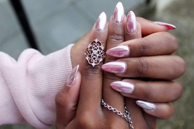 Chrome Nails, 2017 Summer nail Trend, Festive,
