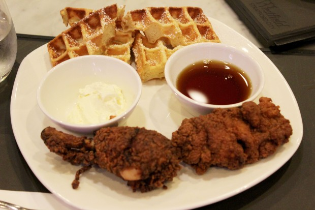 Westfield London Chicken and Waffles America Food