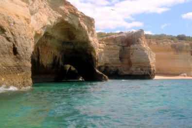 Caves, Travel, Armacao de pera, sra da rocha, marinha, benagil, carvalho, algar seco, carvoeiro, ferragudo, private beaches, black girl in pink coral swimwear, bikini, black girl with braids by the sea, Keeping healthy on holiday, Holiday in Algarve, South of Algarve, Portugal,